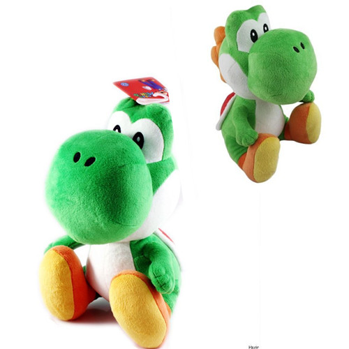 7 Inch Cute Super Mario Brothers Bros Green Yoshi Plush Stuffed Toys For Kids Baby Boy Girl Doll Xmas Gift