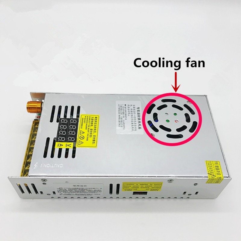 CHUX 480w Switching Power Supply 5V12v 24v 36v 48v 60v 160V Adjustable display AC-DC Converter 80v 120v 220V LED Power Supply-1