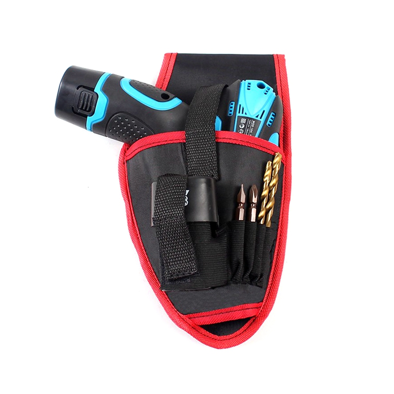 Thicken Waist Hanging Portable Screws Cordless Drill Holder Bag Power Charging Tool Repairing Holst Tool Pouch Pocket