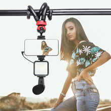 Octopus-Tripod Magic-Arm Extend Microphone Video Dslr Travel Flexible for Vlog 1/4 Screw