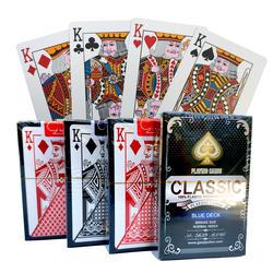 100% ПВХ пластик новый шаблон баккара пластик водостойкие карточные игры ТЕХАС ХОЛДЕМ ПОКЕР карты; настольные игры 58*88 мм карты