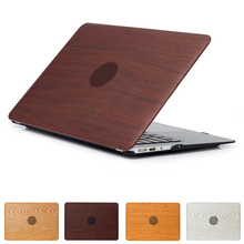 Laptop Cases For Apple MacBook Air 11.6 (A1370/A1465) Notebook Protective Case Scratch Resistance Wood Grain Notebook Cover