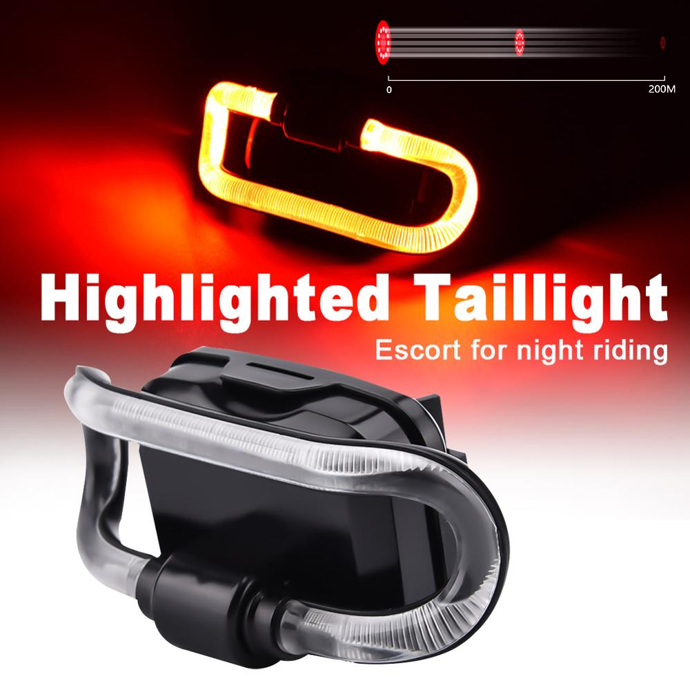 TL36 LED Tail Light 200 Meters Visible Distance 3 mode Waterproof Highlight  Bicycle Light  Outdoor Warning|Bicycle Light| |  - title=