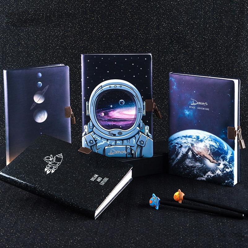 A5 дневник с замком, дневник, чудесный блокнот, планировщик, органайзер, милая книжка, книга назад в школу, руководство для путешественников|Записные книжки|   | АлиЭкспресс