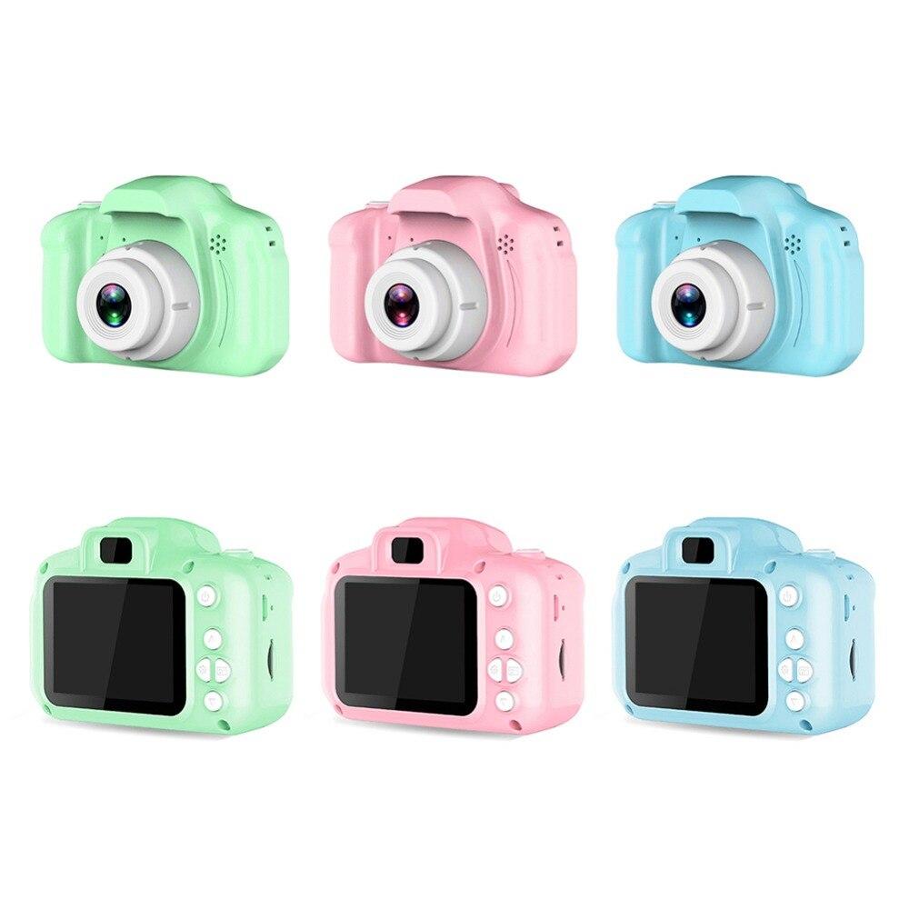 He6ab856b1d5646e988e77b0274623ec4P Children 1080P Digital Camera 2 Inch Screen Cute Cartoon Camera Toys Mini Video Camera Kids Child Gift