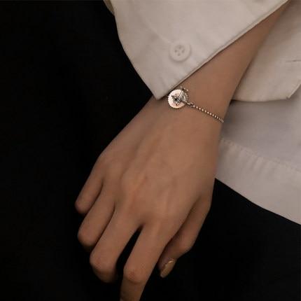 TS-SL004 Fine Toss Bear 925 Sterling Silver Spanish Gemstone Bear Version Bracelet Jewelry Women's Bracelet Wholesale Price