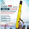 Аккумулятор Golooloo для ноутбука Lenovo  14 4 В  3200 мАч  для Lenovo IdeaPad P400 P500 L12L4K01 L12S4E21 Z400 Z400A Z500 L12S4K01 L12M4E21 L12M4K0