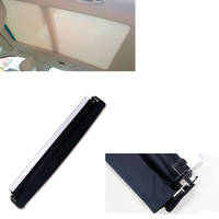 Black Car Sunroof Sunshade Curtain Cover for A6 C7 2012 2013 2014 2017 AA