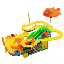 Electric Rail Car Speed Racing Track ChildrenS Educational Toys improving childrens awareness