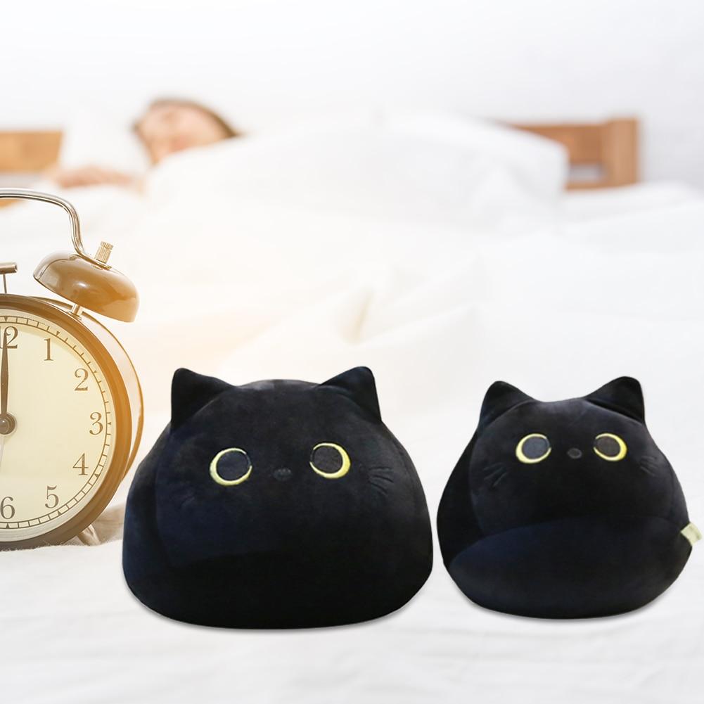 Cute Black Cat Plushie 1