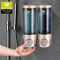 300ML*2 Double Head Liquid Soap Dispenser Bottle Sanitizer Dispensador for Kitchen Bathroom Shower Shampoo Liquid Dispenser