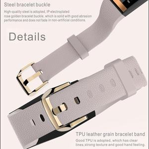 Image 3 - E78 สมาร์ทสร้อยข้อมือผู้หญิงลิปสติกสไตล์ IP68 กันน้ำ Sleep Tracker สุขภาพสายรัดข้อมือความดันโลหิตสมาร์ทนาฬิกาฟิตเนส