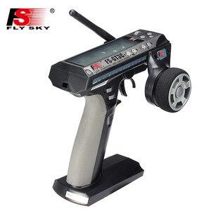 Image 3 - Flysky FS GT3C gt3c rc transmissor de rádio do carro embutido 800mah bateria com receptor gr3e para rc caminhão de carro rastreador jipe barco 4wd