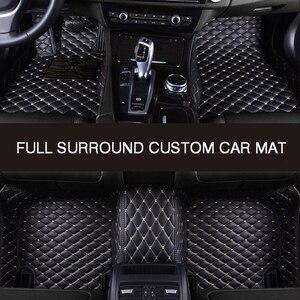 Image 4 - HLFNTF alfombrilla de recubrimiento completo para coche, accesorio personalizado para VOLKSWAGEN, vw, passat b5, touran 2005, Touareg, polo, sedan, golf, sharan