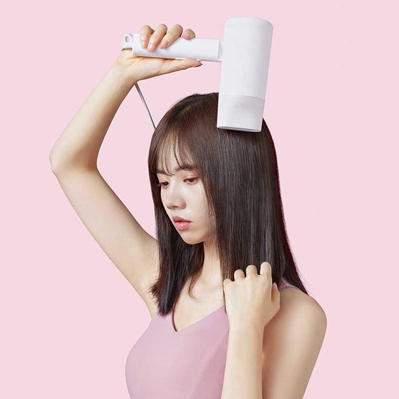 Xiaomi Mijia 1600W Íon Negativo Secador de Cabelo Portátil para Ferramentas de Cabeleireiro Barbeiro Do Salão de Beleza Secador de cabelo Baixo Secador de Cabelo Secador de Cabelo fã