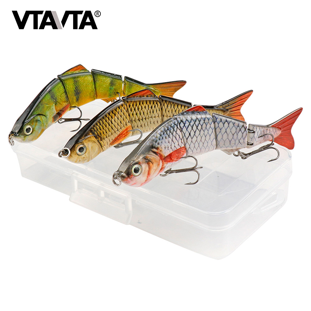 looks and swims realistic Fast shipping Two 2 Robotic Fish lure set for fishing