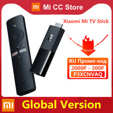 Versión Global Xiaomi Mi TV Stick Android TV 9,0 inteligente de HDR 1GB de RAM 8GB ROM Bluetooth 4,2 Mini TV Dongle Wifi Google asistente