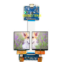 Wisecoco 3.81 inch 1080x1200 AMOLED OLED display screen 3D VR head mounted Panel HDMI to MIPI board HMD TF38101A H381DLN01.2