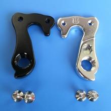 цена на 2pcs Bicycle gear rear derailleur hanger For Ghost #EZ2011 LaPierre Sensium HAIBIKE GHOST Nivolet MECH dropout carbon frame bike