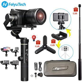 FeiyuTech G6 Plus 3-Achse Handheld Gimbal Stabilisator für Smartphone,Gopro,Canon micro einzigen, einschließlich Stativ, Verlängerung Stange