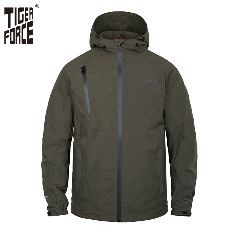 Tiger Force 2019 Casual Men's Jacket Spring Army Military Windbreaker Men Autumn Coats Male Outerwear Male Jackets Overcoat