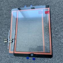 Panel exterior frontal de cristal probado OEM para iPad 6, 6. ª generación, A1893, A1954, Digitalizador de pantalla táctil, 10 Uds.