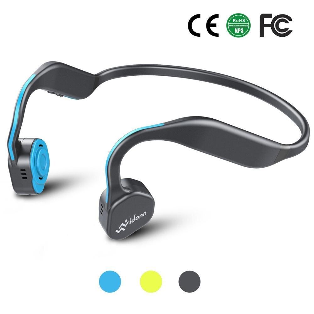 Vidonn F1 Fones De Ouvido de Condução Óssea Fone de Ouvido Bluetooth 5.0 Esportes Sem Fio fone de Ouvido fone de Ouvido de Titânio Aberto