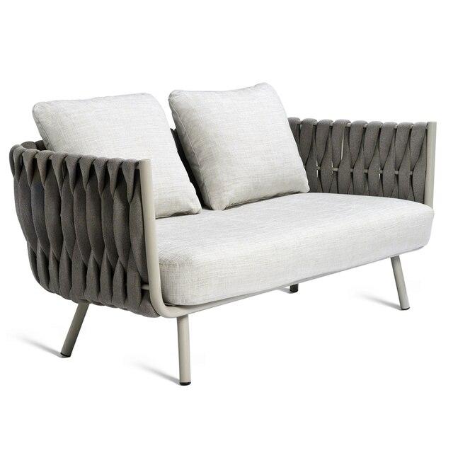 Luxury Rope Garden Sofa Set  6