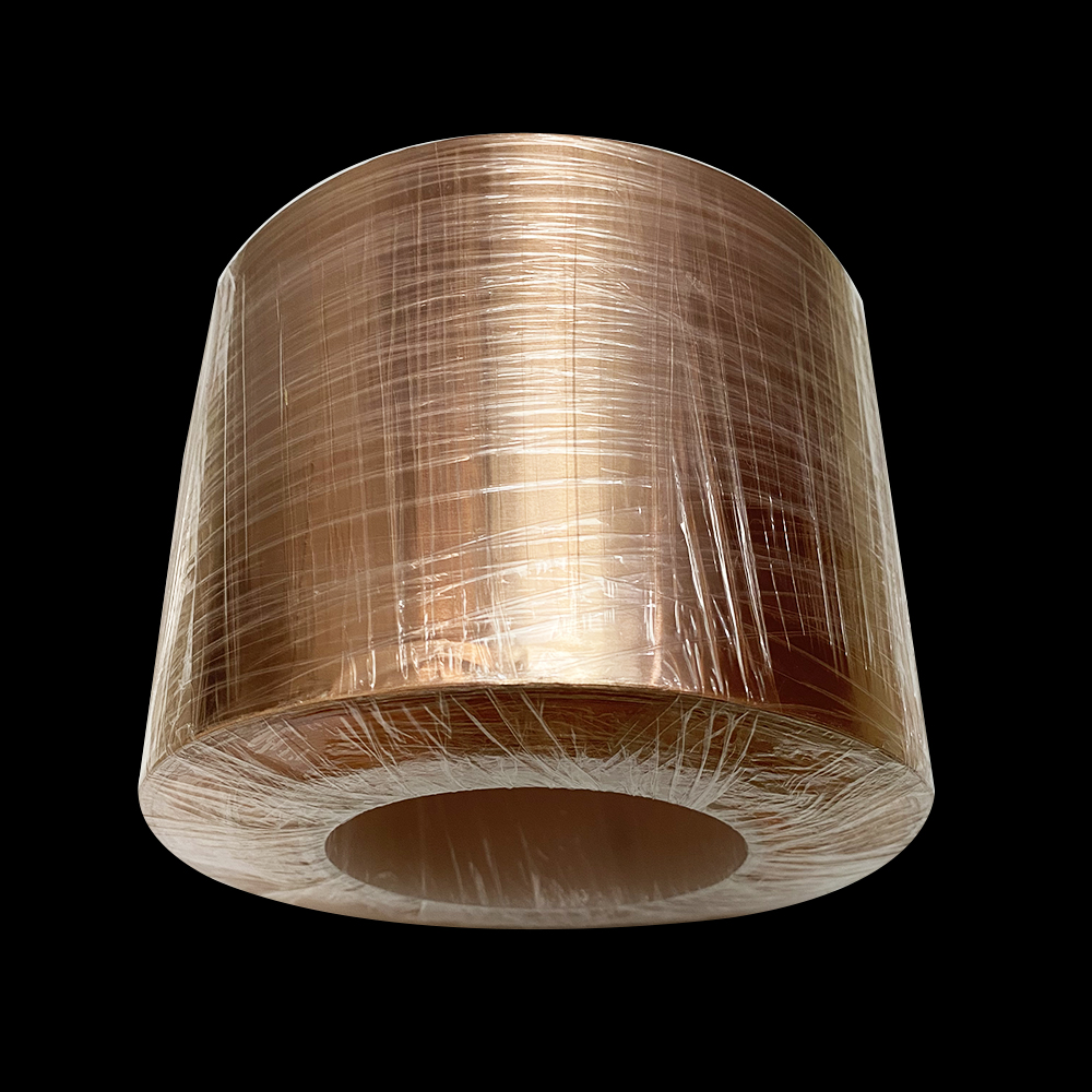 0.3mmx61mmx1000mm T2 Pure Copper Foil Tape ground Copper Strip width 61mm thickness 0.3mm Double-sided Conductive Copper plate