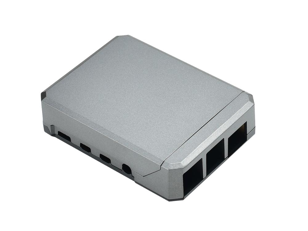 Waveshare Argon NEO: A Slim Aluminum Case For Raspberry Pi 4, Passive Cooling