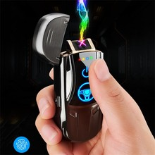 Electronic Flameless Lighter USB Rechargeable Lighter Smoking Tools 2020 hot new
