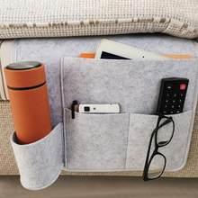 Прикроватный органайзер для хранения, подвесной карман для кровати, карман для кровати, карман для детской книги, фетровые карманы для держ...