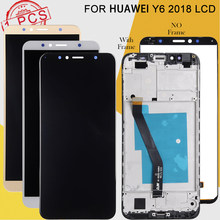 Dinamico Promotie 4G Lte Nova Jong Lcd Voor Huawei Y6 2017 Display Mya L11 Y5 2017 Y5 Iii Lcd touch Screen Digitizer Vergadering(China)
