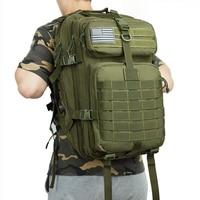 Bolsa impermeable de nailon para senderismo, mochila militar de 50L, 1000D, para pesca, caza, deportes tácticos, Camping y senderismo