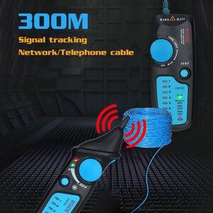 Image 2 - Detector de cable de red, FWT81, RJ11/45, Lan, Ethernet, teléfono, probador de cables, herramienta de telecomunicaciones, trabajo electrificado, 48V