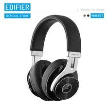 EDIFIER W855BT casque Bluetooth premium appairage Bluetooth NFC et prise en charge aptX commandes intra auriculaires pratiques et prise en charge des appels casque