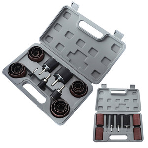 Image 5 - Drum Sander Dremel Kit Sanding Belt Grit 80 120 Sandpaper Long Short with Spindle Case for Drill Press Rotary Tools
