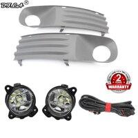 2pcs LED Light For VW Transporter Multivan Caravelle T5 2003 2004 2005 2006 2007 2008 2009 2010 LED Fog Light Fog Lamp Grille Car Light Assembly    -
