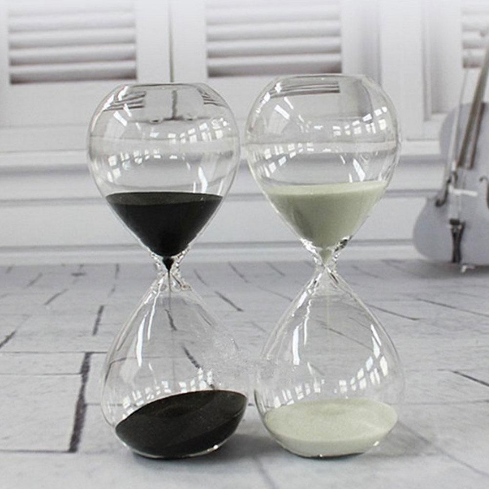 Creative Sand Clock Hourglass Timer Gifts As Delicate Home Decorations 5cmx12.5cm