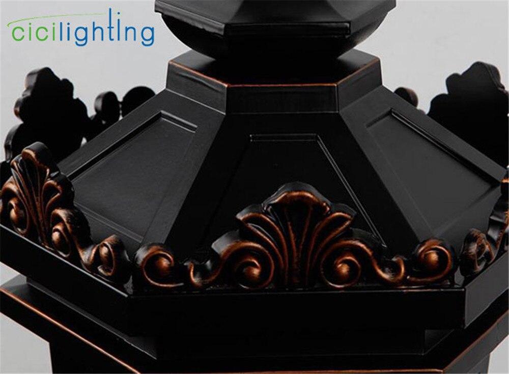 luz de teto ao ar livre tradicional 02