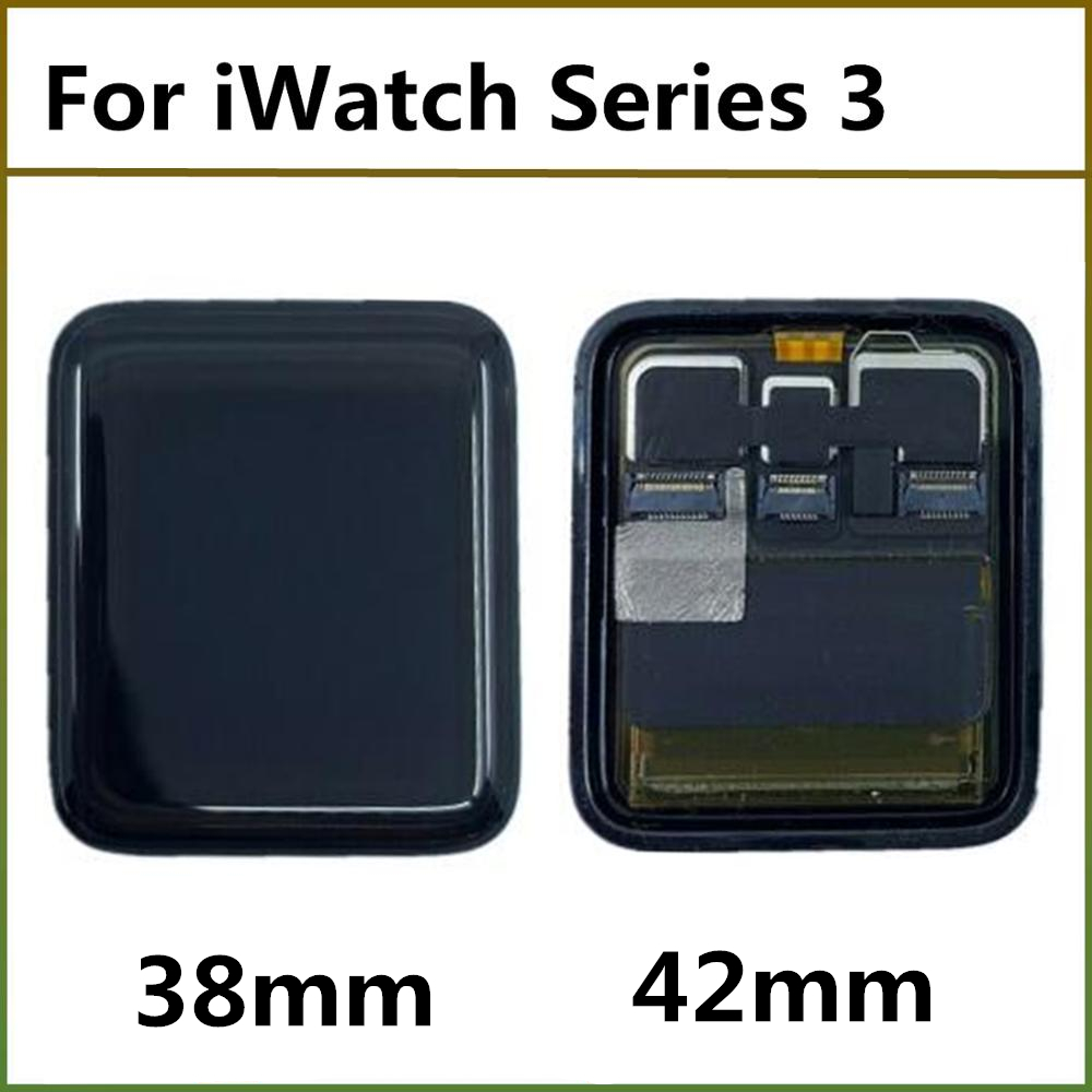 38mm 42mm <font><b>GPS</b></font> Cellular version LCD Display Screen For <font><b>Apple</b></font> <font><b>Watch</b></font> <font><b>Series</b></font> <font><b>3</b></font> LCD Touch Screen Digitizer Assembly Replacement Parts image
