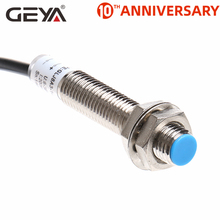 цена на GEYA 1mm Sensing Distance Inductive Proximity Sensor Detection Switch NPN PNP DC 10-30V Proximity Switch DC 3 Wire
