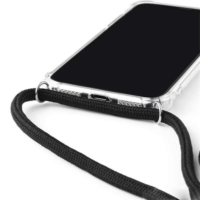 Per Samsung Galaxy S11 più Cassa Del Telefono di Protezione Crossbody Cavo Della Collana Cordini con La Cinghia Per il iPhone 11 Pro Max 6 7 8 più