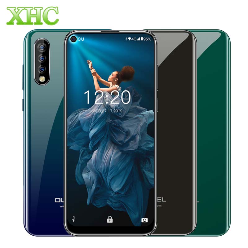 LTE 4G OUKITEL C17 Pro 6.35inch Mobile Phone Android 9.0 MT6763 Octa Core RAM 4GB ROM 64GB Dual SIM 4 Cameras OTG Smartphone