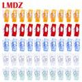LMDZ тканевые стеганые Швейные зажимы для дома и офиса, смешанные пластиковые зажимы для шитья, держатель для рукоделия в стиле пэчворк