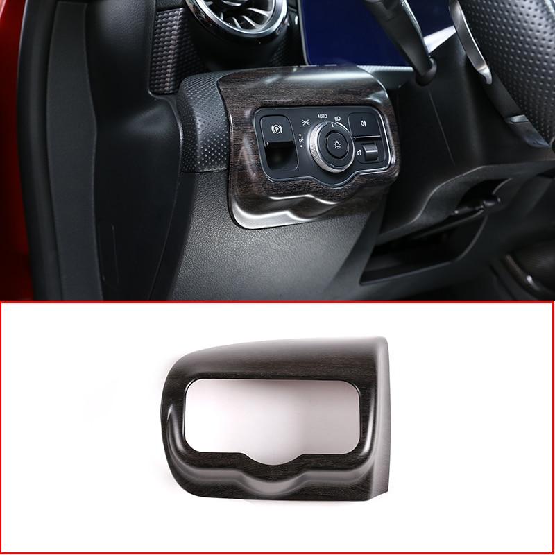 Carbon Fiber Car Window Button Cover Frame for Mercedes-Benz A-Class W177 2019