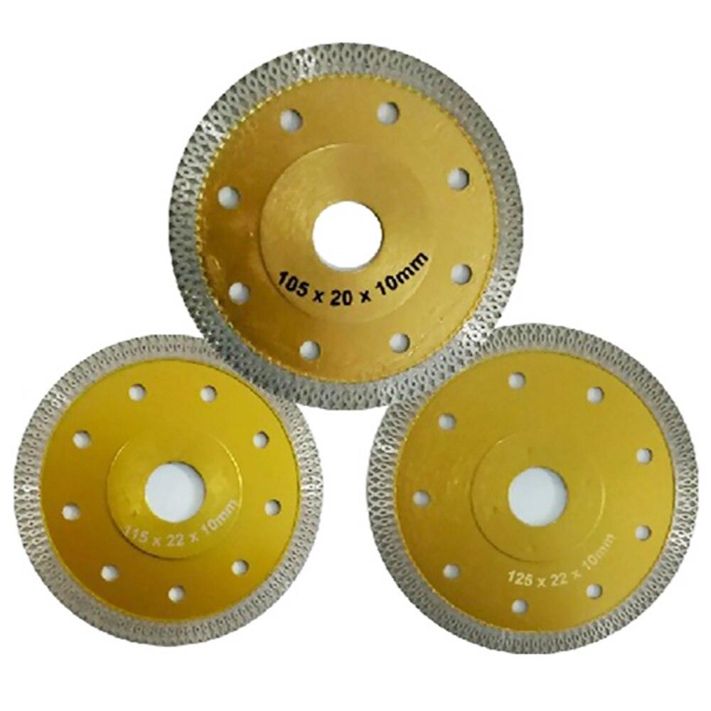 Porcelain-Saw-Blade Circular-Disc Cutting Disc Diamond 115mm/125mm X-Shape Concrete  Marble Porcelain Tile -Stone