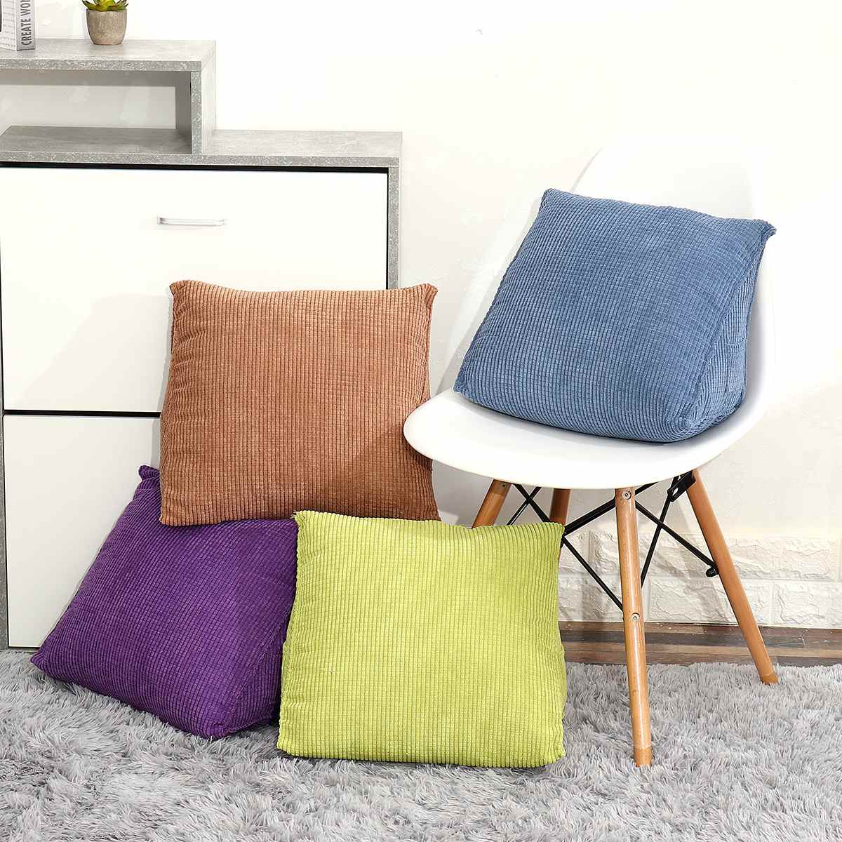 Picture of: Adeeing Reading Backrest Cushion Wedge Pillow Back Cushion Lumbar Pad Bed Office Chair Rest Pillow Back Support Outdoor Cushion Covers Online Wicker Patio Furniture Cushions Replacement From Tinaya 21 91 Dhgate Com