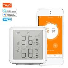 Humidity-Sensor Hygrometer Wifi Google-Assistant Digital Smart Temperature Alexa Wireless