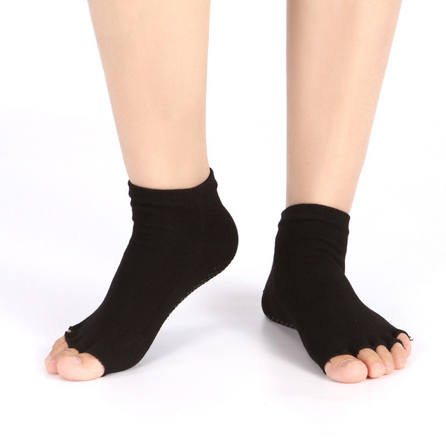 Ladies Trainer Socks Womens Gym Yoga Sportswear Non Slip Gripper Sole Shoe Liner